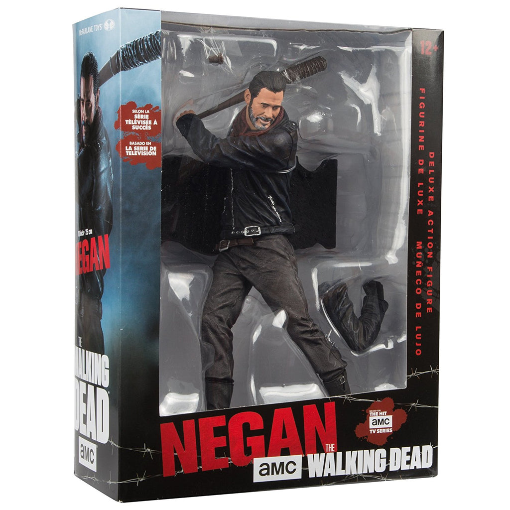 "AMC's THE WALKING DEAD Negan 10"" Deluxe Action Figure"