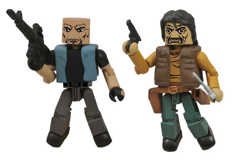 THE WALKING DEAD Minimates Series 4 - Governor and Bruce