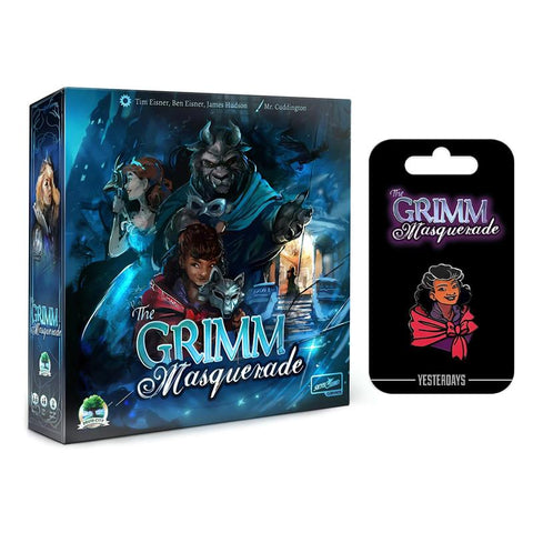 Grimm Masquerade & Red Riding hood pin - Bundle