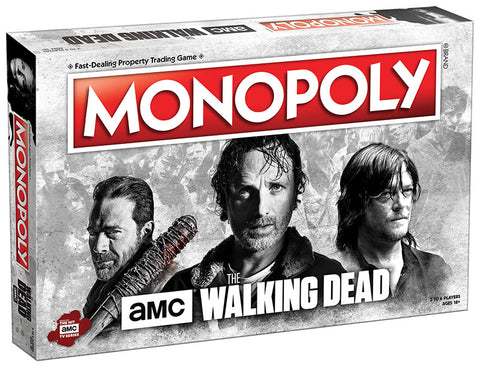 AMC The Walking Dead - Monopoly