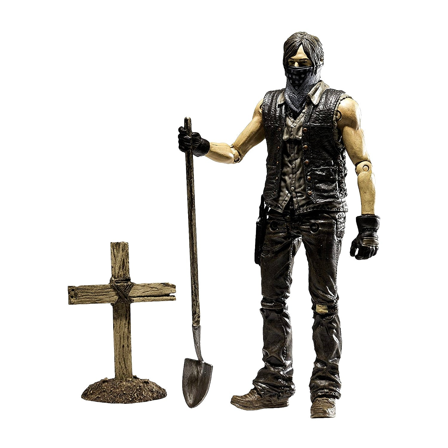AMC's THE WALKING DEAD TV Grave Digger Daryl Dixon Action Figure