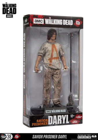 "AMC's THE WALKING DEAD - Color Tops - Savior Prisoner Daryl - 7"" Action Figure #38"