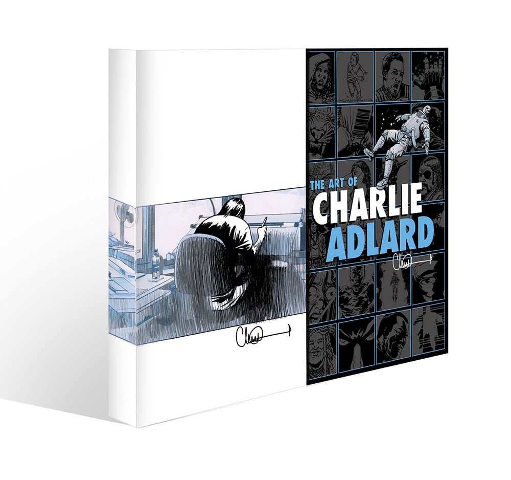 THE ART OF CHARLIE ADLARD NYCC LIMITED EDITION SLIPCASE HARDCOVER