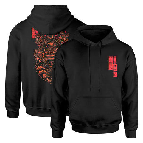 Attack Peter - Ghost Samurai - Black Hoodie