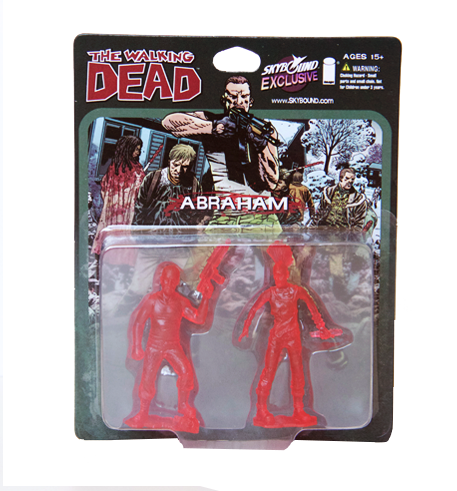 THE WALKING DEAD - Abraham PVC Figure 2-Pack (Translucent Red)