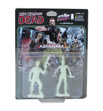 THE WALKING DEAD - Abraham PVC Figure 2-Pack (Glow-in-the-Dark)