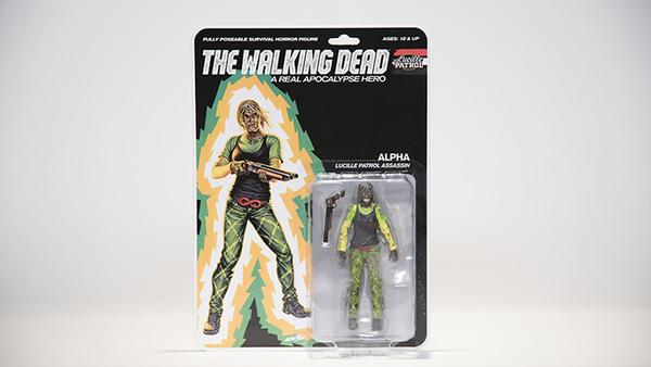 THE WALKING DEAD Lucille Patrol - Alpha (Bloody) Action Figure