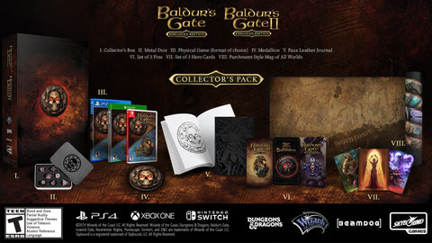 Baldur's Gate Enhanced Edition Collector's Pack - Pre-Order