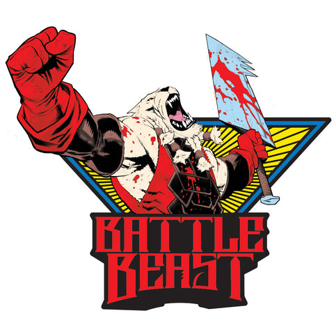 INVINCIBLE Battle Beast Pin