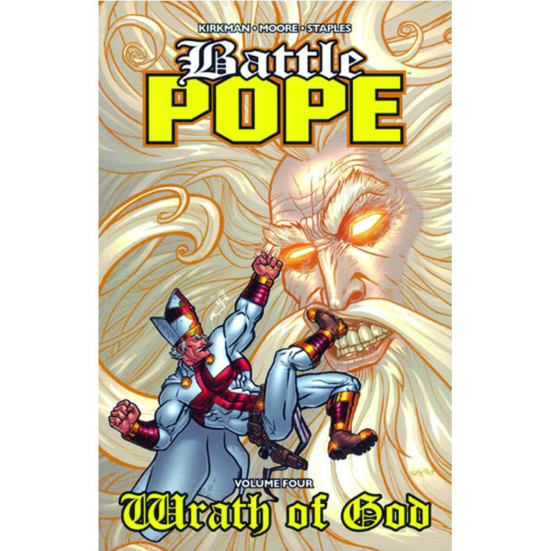 "BATTLE POPE Volume 4 - ""Wrath of God"""
