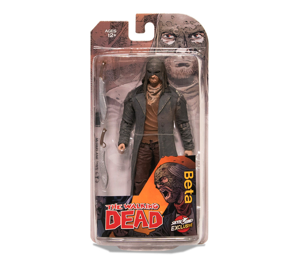 The Walking Dead Beta Action Figure Color Skybound