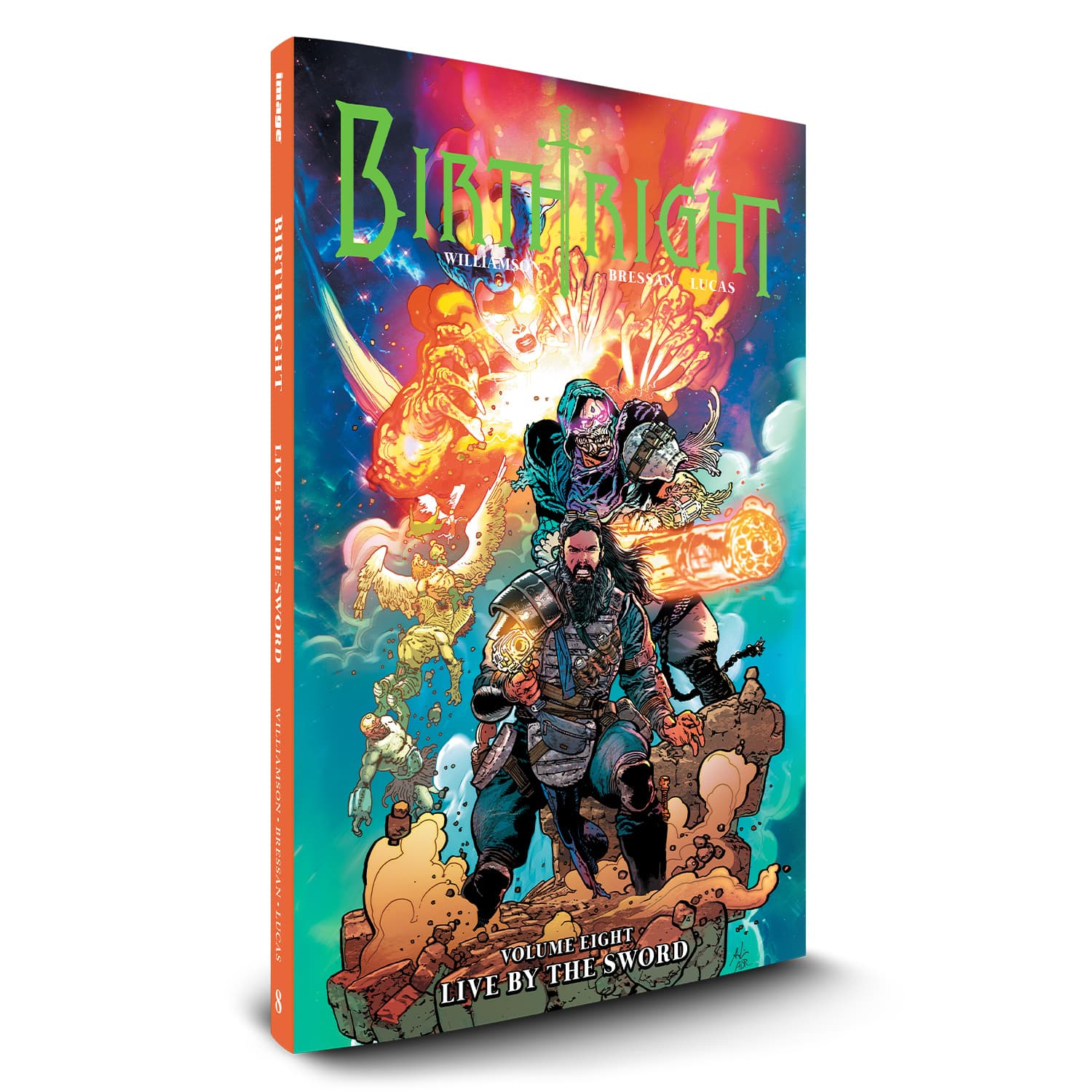 "BIRTHRIGHT VOLUME 8 - ""LIVE BY THE SWORD"""
