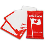 Blank Red Flags (20 Card Pack)