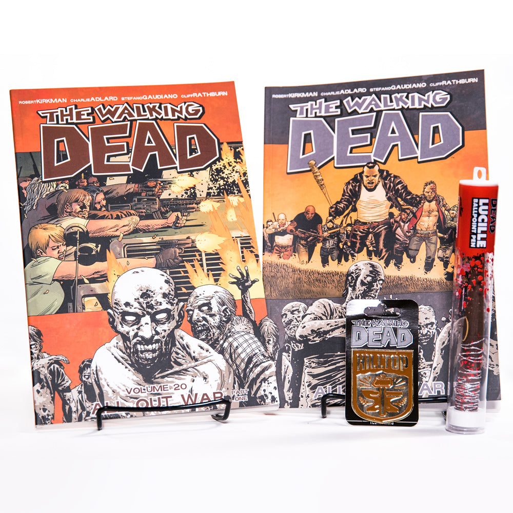THE WALKING DEAD All Out War Bundle with Hilltop Pin