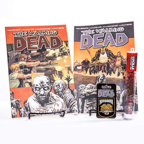 THE WALKING DEAD All Out War Bundle with Kingdom Pin