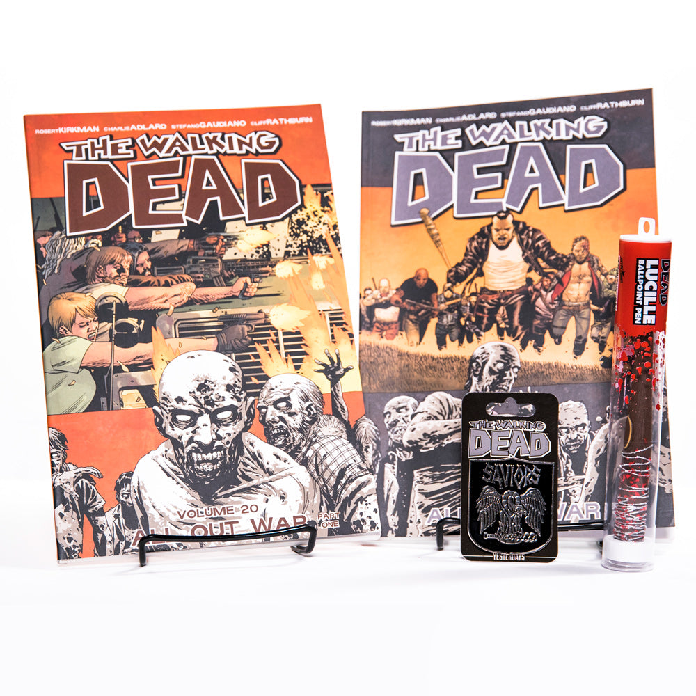 THE WALKING DEAD All Out War Bundle with Saviors Pin