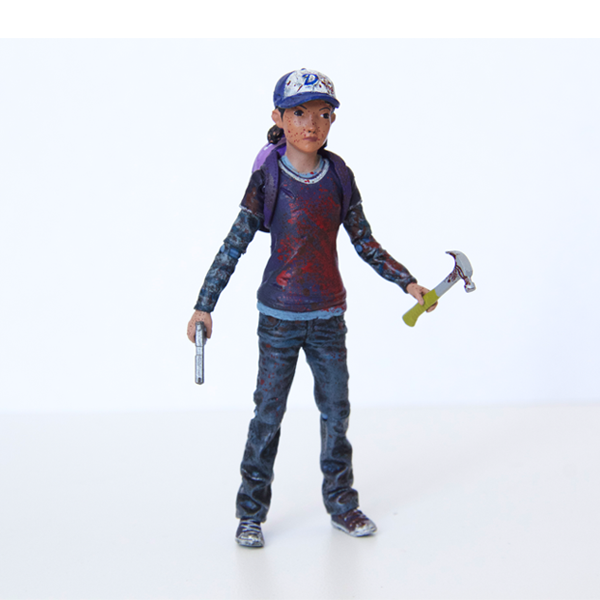 THE WALKING DEAD Clementine Action Figure (Bloody)