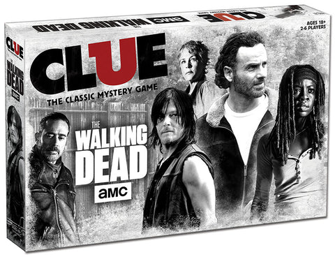 AMC The Walking Dead - Clue