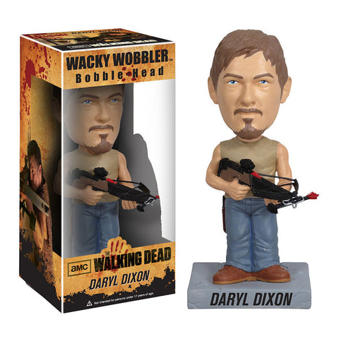 AMC's THE WALKING DEAD Funko! Wacky Wobbler Bobblehead - Daryl Dixon