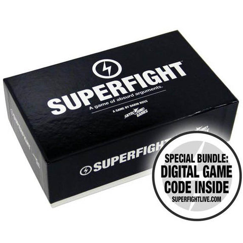 SUPERFIGHT 500-Card Core Game Deck + Digital Download Bundle