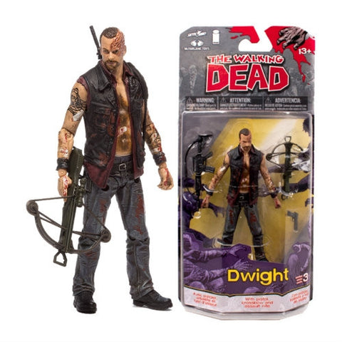 THE WALKING DEAD Comic Series 3 Dwight Action Figure