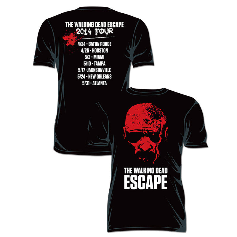 "THE WALKING DEAD ""Escape Tour"" T-Shirt"