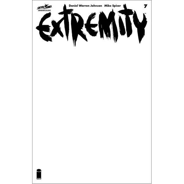 EXTREMITY #7 Blank Variant NYCC