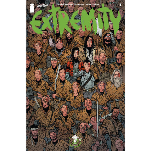 EXTREMITY #1 Emerald City Comicon Variant