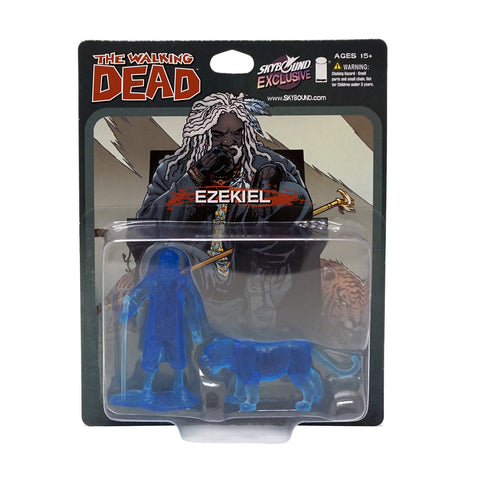 THE WALKING DEAD - Ezekiel and Shiva PVC Figure 2-Pack (Translucent Blue)