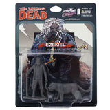 THE WALKING DEAD - Ezekiel and Shiva PVC Figure 2-Pack (Grey)