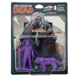 THE WALKING DEAD - Ezekiel and Shiva PVC Figure 2-Pack (Purple)