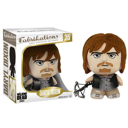 "AMC's THE WALKING DEAD Funko! Fabrications: 6"" Soft Sculpture Plush - Daryl Dixon"