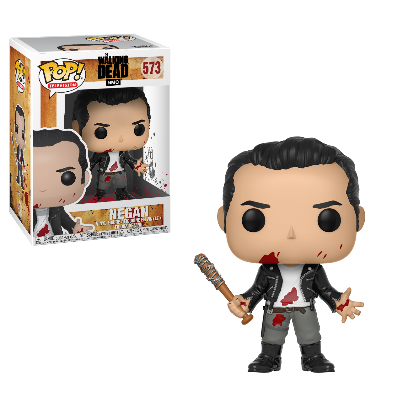 AMC's THE WALKING DEAD Funko Pop! – Negan (Clean Shaven)