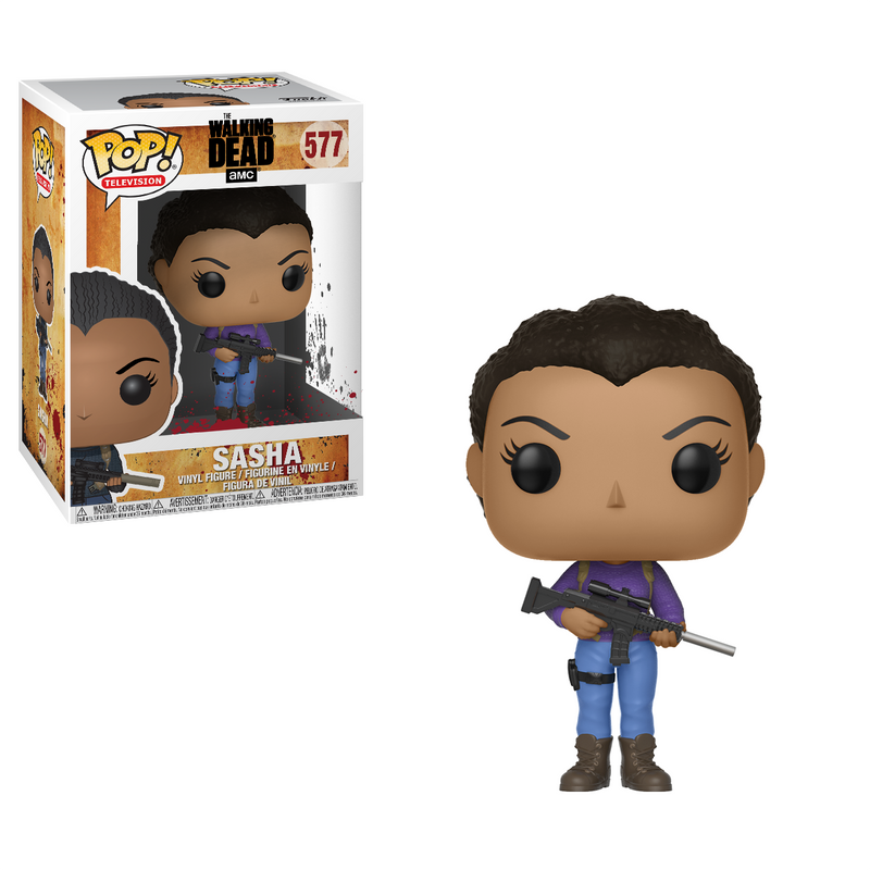 AMC's THE WALKING DEAD (TWD) Funko Pop! - Sasha Figure