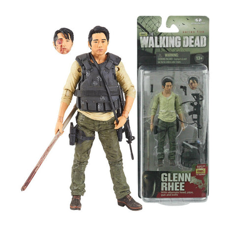 AMC's THE WALKING DEAD TV Series 5 Glenn Action Figure
