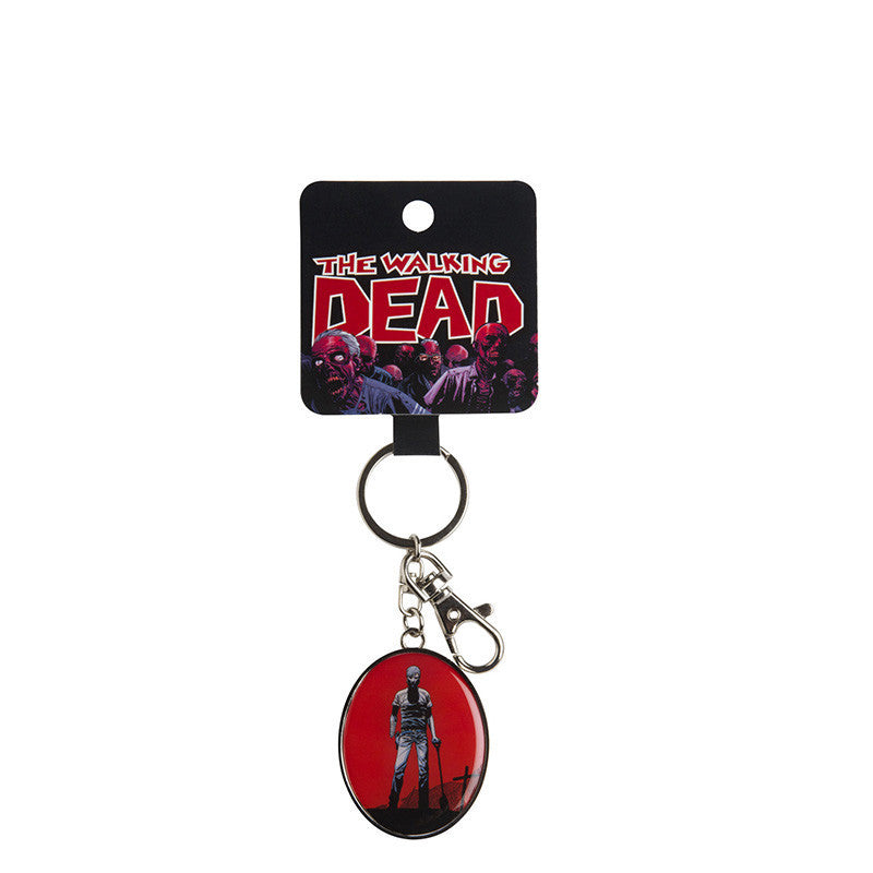 The Walking Dead Graveyard Keychain