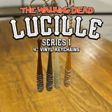 "THE WALKING DEAD Lucille 4"" Series 1 Keychain Random Blind Box"
