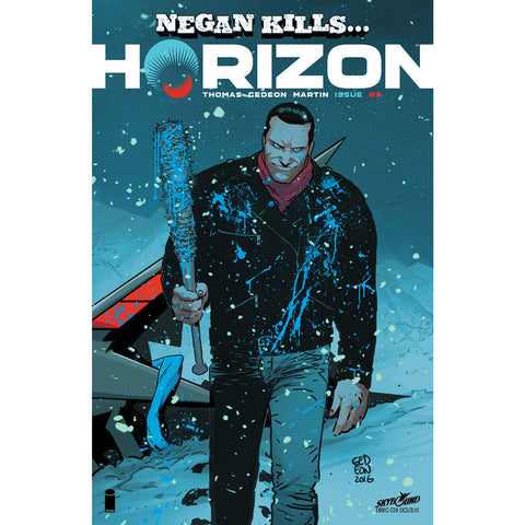 "HORIZON #3: ""Negan Kills"" Con Variant"