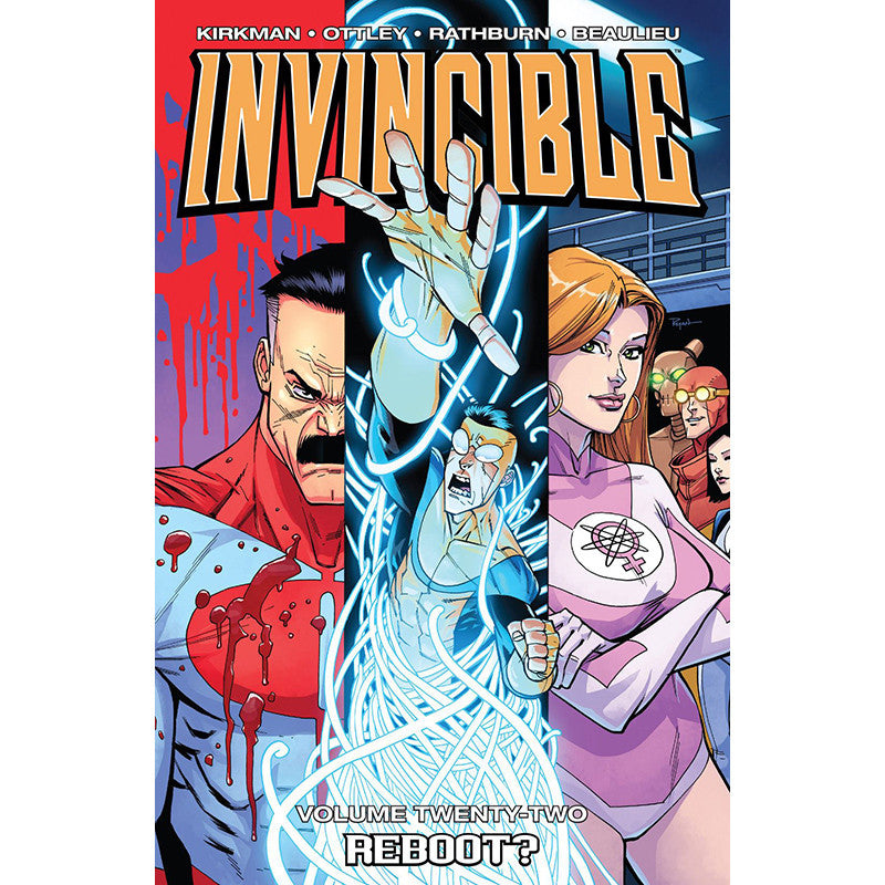 "INVINCIBLE Volume 22 - ""Reboot"""