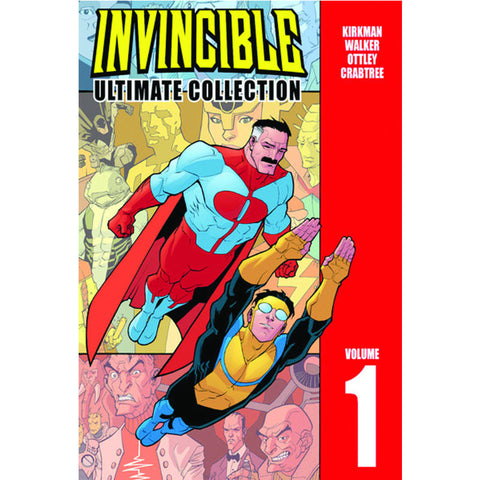INVINCIBLE Ultimate Hardcover Volume 1 - Invincible Issues 1-12