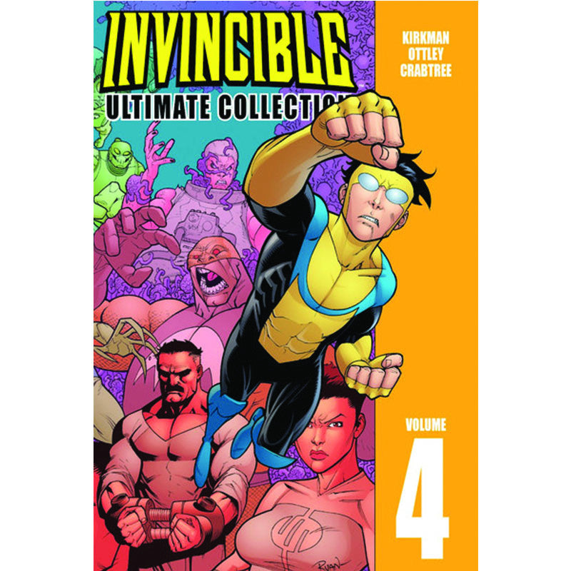 INVINCIBLE Ultimate Hardcover Volume 4 - Invincible Issues 37-48