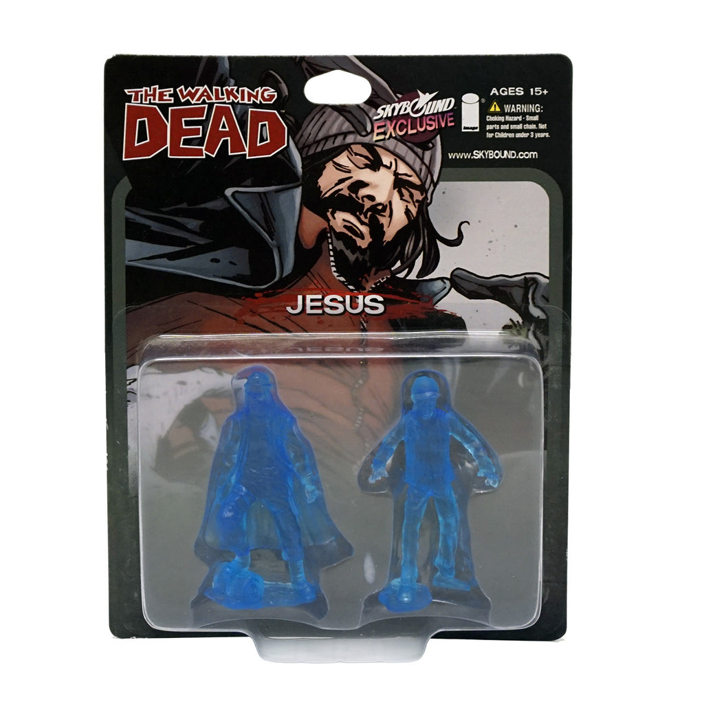 THE WALKING DEAD - Jesus PVC Figure 2-Pack (Translucent Blue)