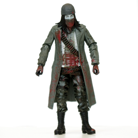 THE WALKING DEAD Jesus Action Figure (Bloody B&W)