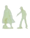 THE WALKING DEAD - Jesus PVC Figure 2-Pack (Glow-in-the-Dark)