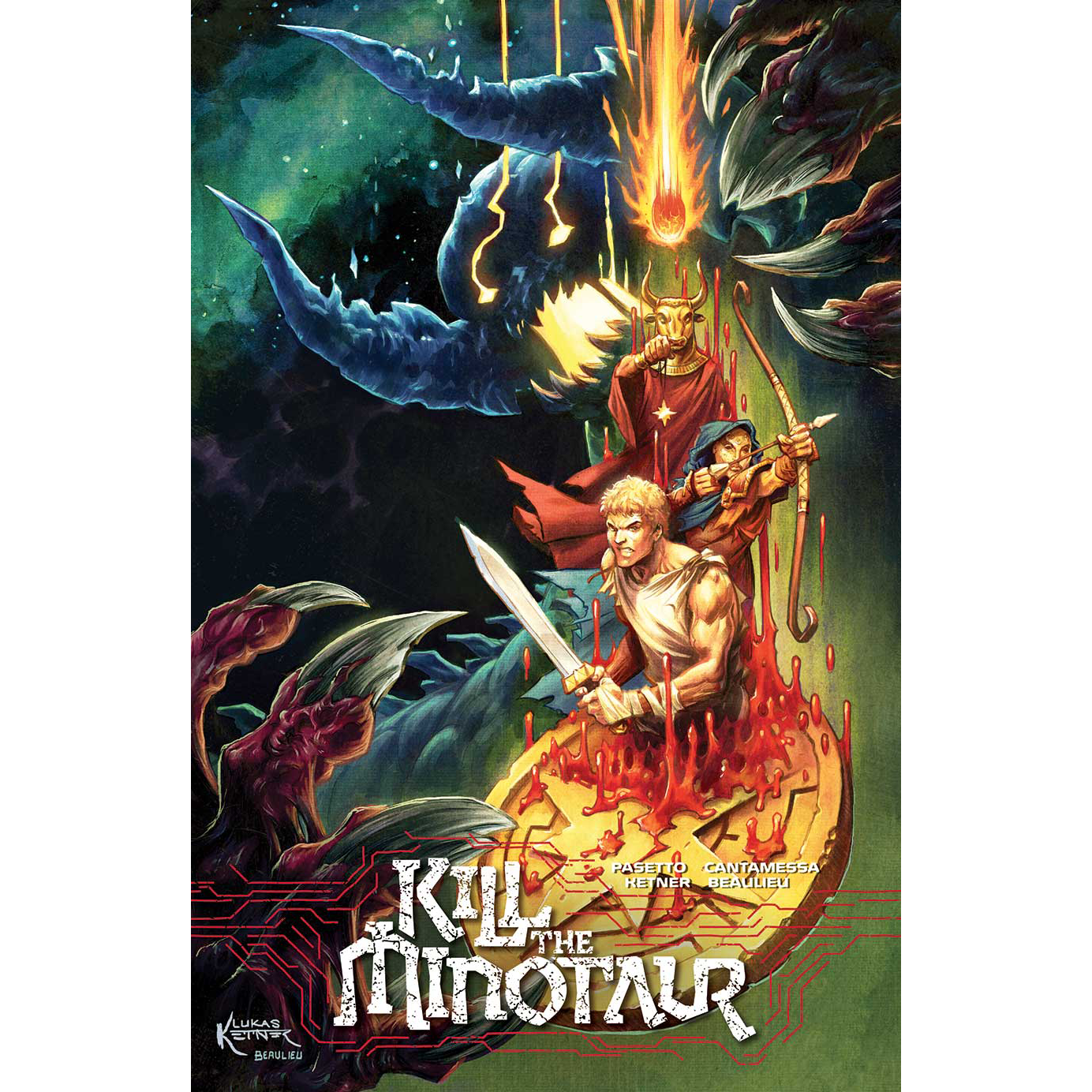 KILL THE MINOTAUR #2 SDCC 2017 Variant