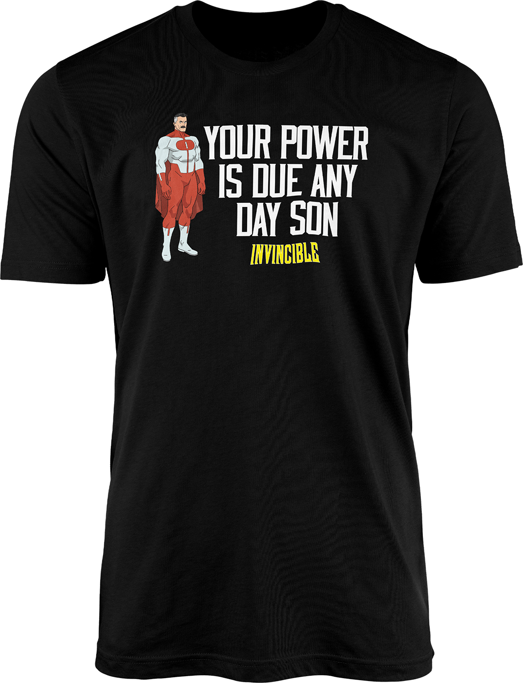 "Invincible ""Omni-Man Power Quote"" - T-Shirt"