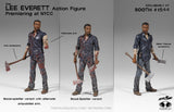 THE WALKING DEAD Lee Everett Action Figure