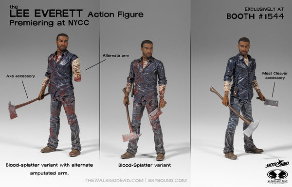 The Walking Dead Lee Everett Action Figure Skybound
