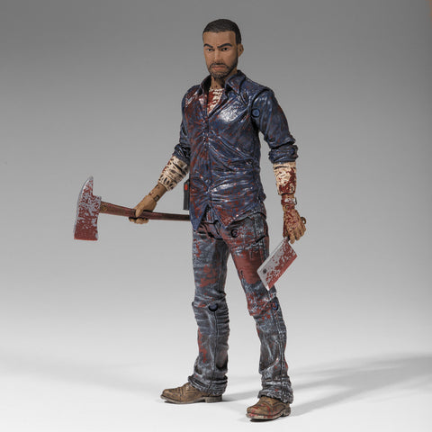 THE WALKING DEAD - Lee Everett Action Figure (Bloody)