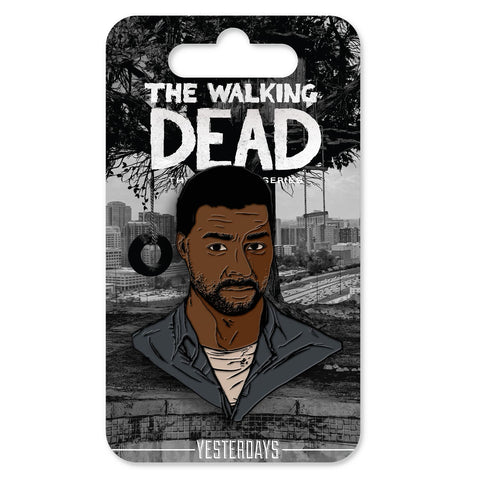 "The Walking Dead ""Telltale Lee"" - Face Pin"